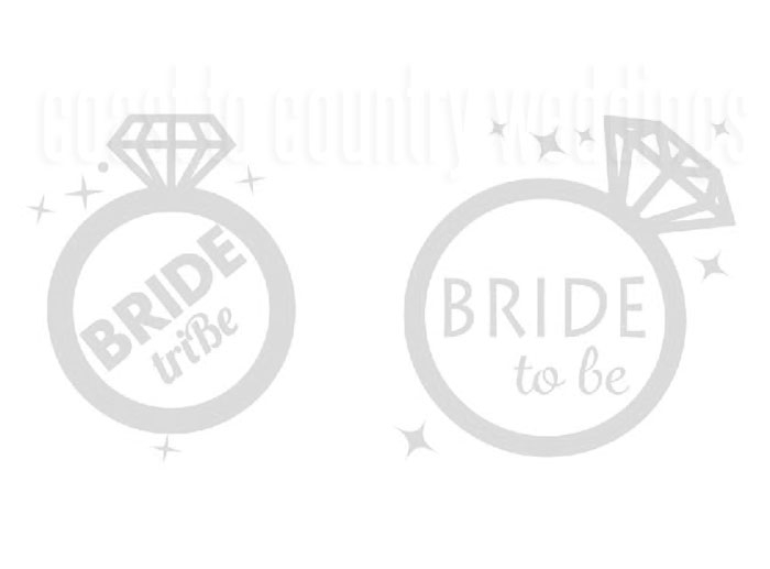 Bride To Be Temporary Hens Tattoos