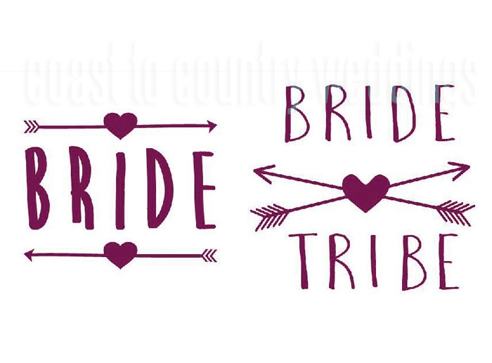 Bride Tribe Heart & Arrows