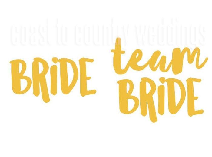 Team Bride Tribe Tattoos Australia