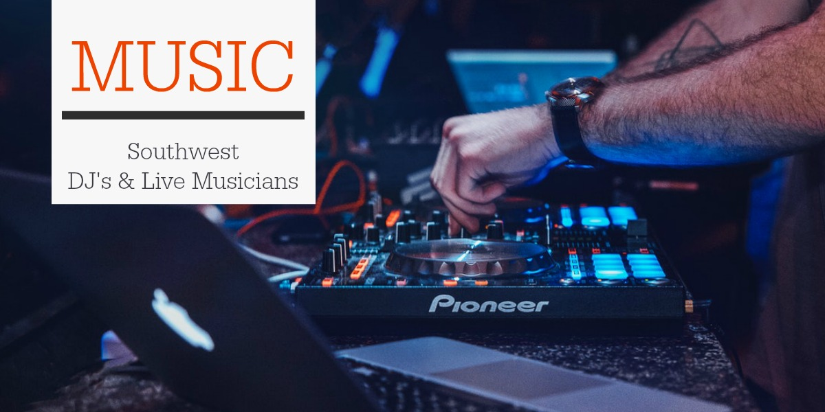 Find a range of DJ's and Musicians for your Wedding