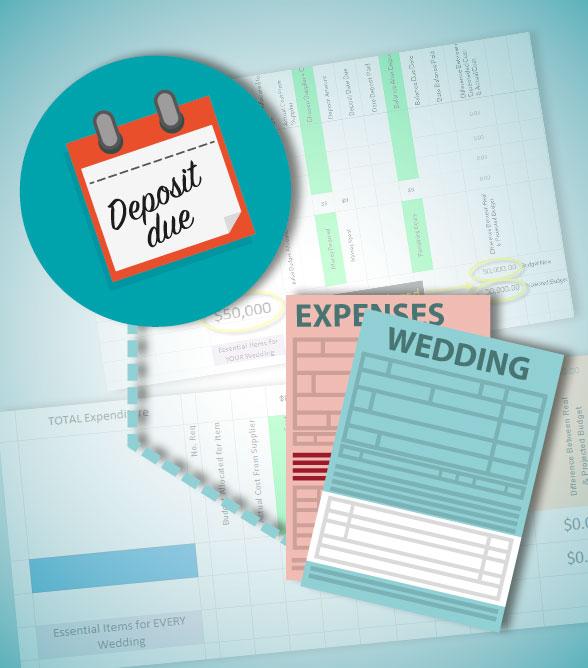 buy the ultimate wedding budget planner spreadsheet