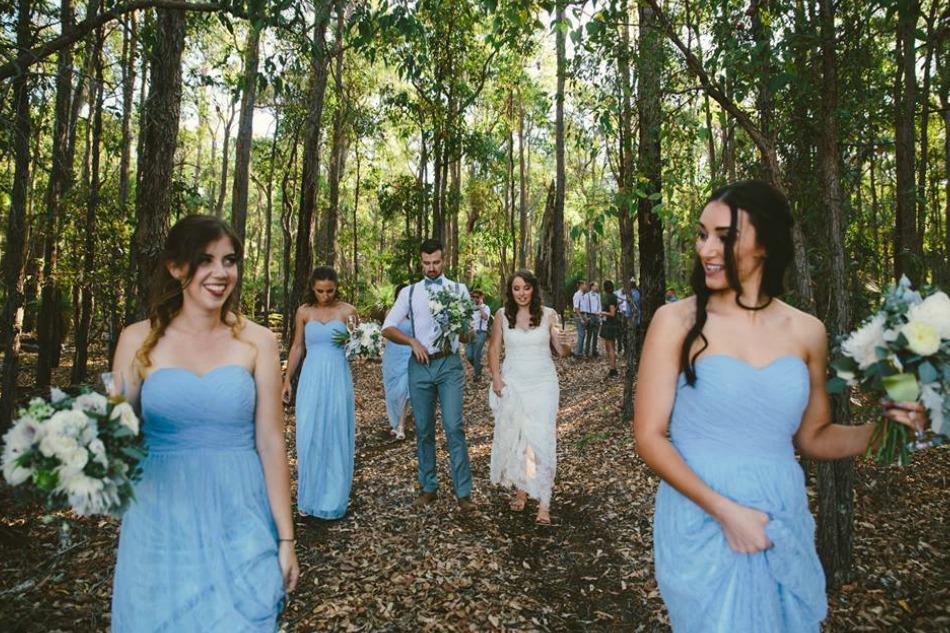 Kimberley & Luke's Dreamy Mornington Springs Wedding