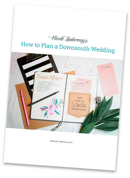 How to Plan a Downsouth Wedding