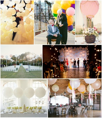 balloon inspiration board