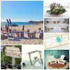 beach party inspiration board 100x100