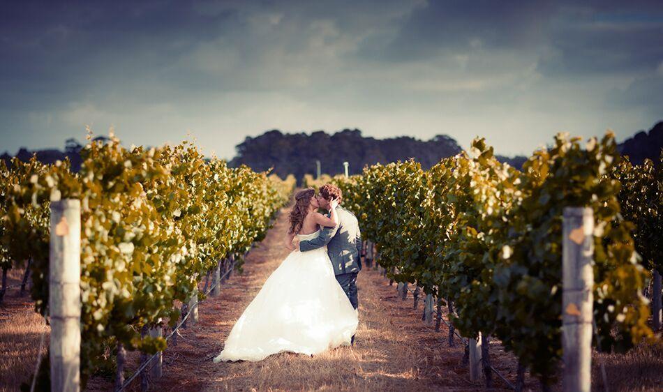 Lisa & Rob's Watershed Winery Wedding