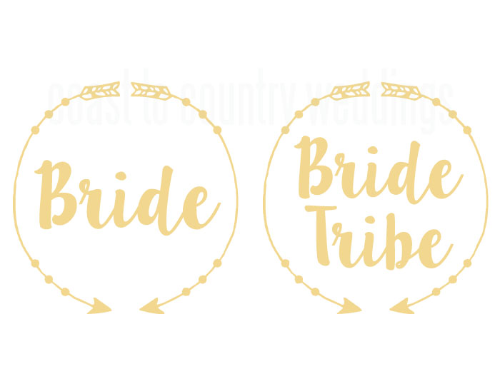 Bride Circle Arrow