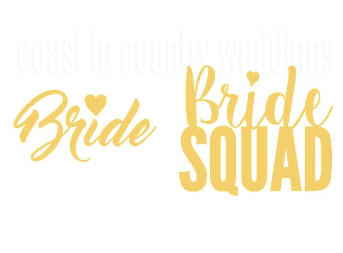 Bride Squad Tattoos Australia