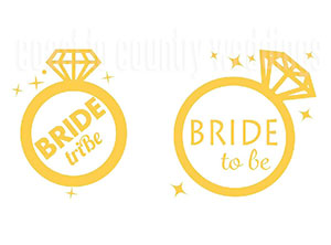 Bride to Be Temporary Hens Tattoos Perth
