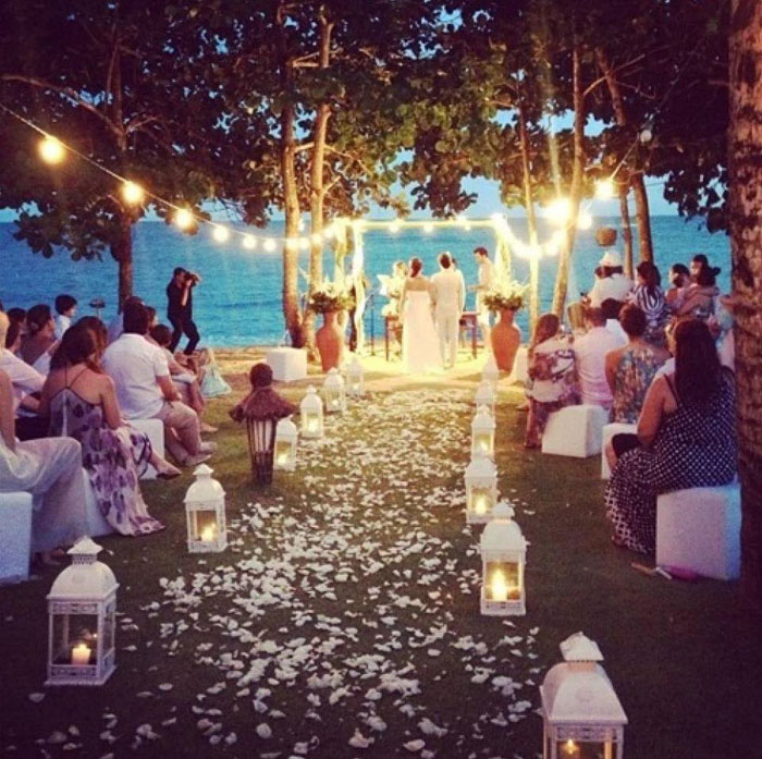 How To Organise An Evening Or Dusk Wedding Ceremony