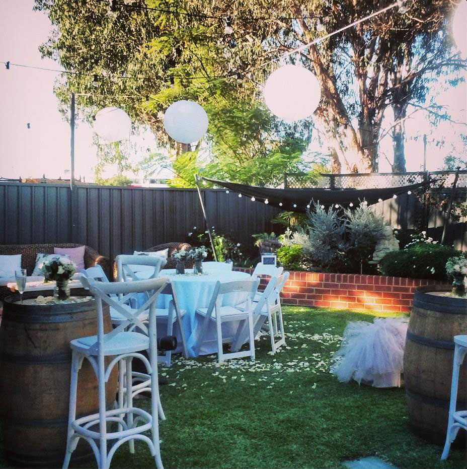 Backyard Wedding Receptions how to plan a backyard wedding reception