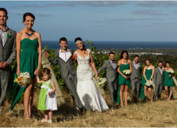 Laura And Stefan Dunsborough Picnic Wedding