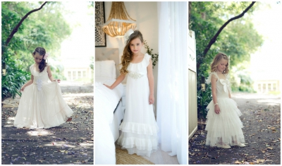 Tea Princess Flowergirl Dresses