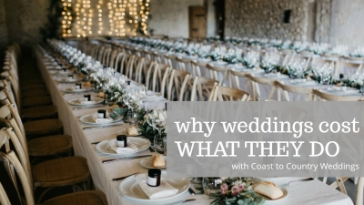why weddings cost what they do