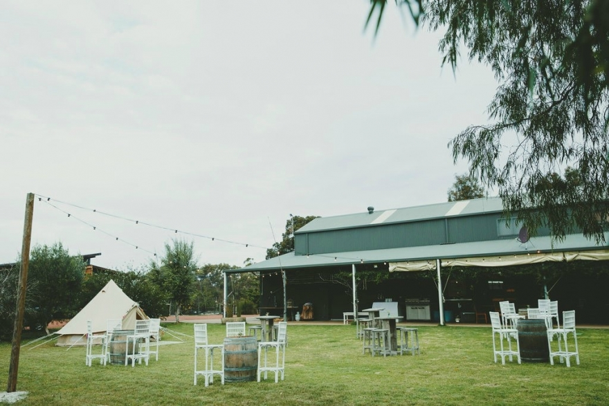 Solitaire Homestead Shed Venue