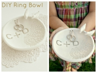 How to DIY a ring bowl
