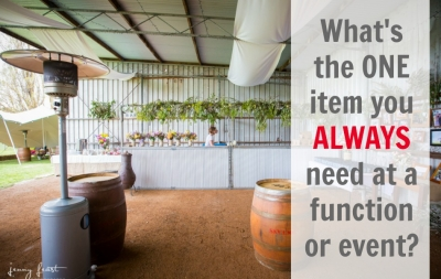 What Is The ONE Item You ALWAYS Need At a Function Or Event?