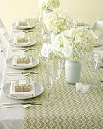 Decorations - Wedding Paper table runners