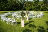 Spiral Marriage Ceremony Setup