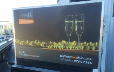 Mobile coolroom hire Margaret River