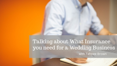 Business Insurance for a Wedding Service