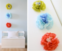 DIY a paper flower backdrop for your ceremony!