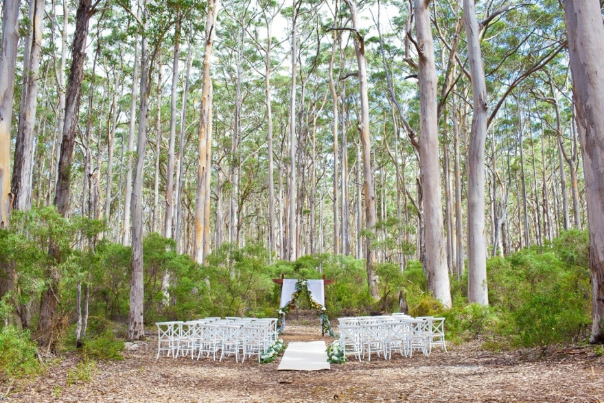 Unusual wedding venues southwest western australia for Unique places to have a wedding