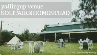 Solitaire Homestead Yallingup Wedding Venue