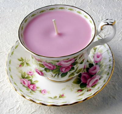 Wedding Favours - Candle in a Teacup