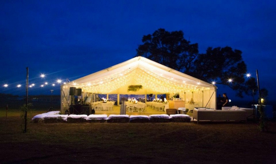 How To Transform A Paddock Into A Wedding Venue