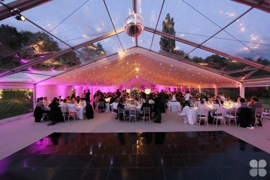 Clear roof marquee? Yes please!! From Southwest Event Hire
