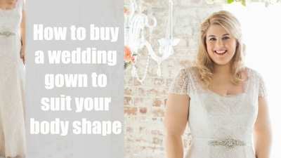 How to Buy The Best Wedding Dress For Your Shape