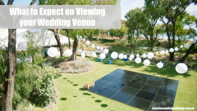What To Expect When Visiting Wedding Venues