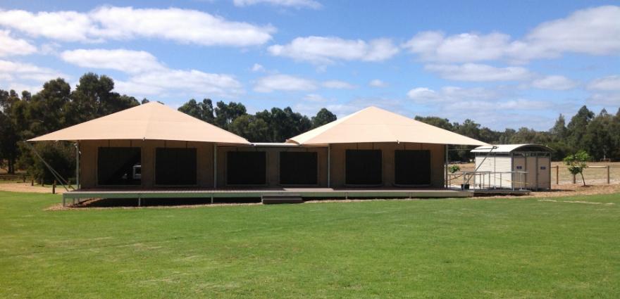& Eco Marquee Tent Venue Unique to Margaret River