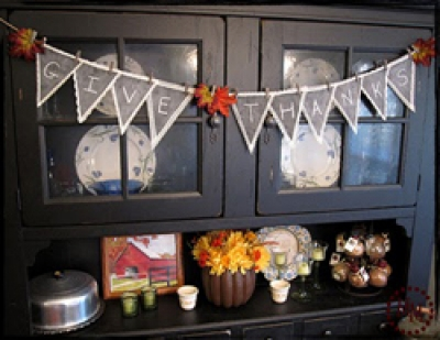 Decorations - Chalkboard Bunting