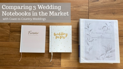 wedding notebooks for planning a weding