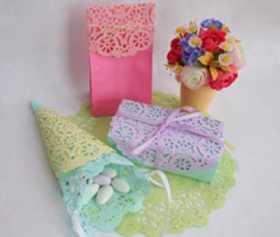 Decorations - Dyed Paper Doilies